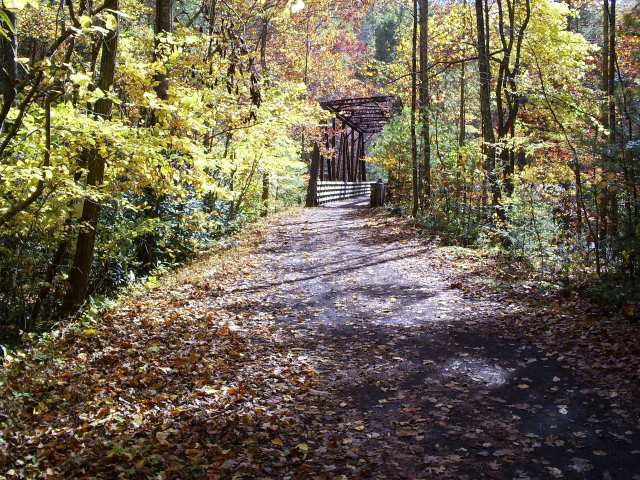 Along the Creeper Trail in October